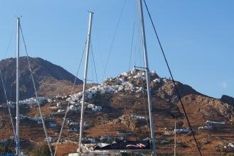Livadi village in Serifos